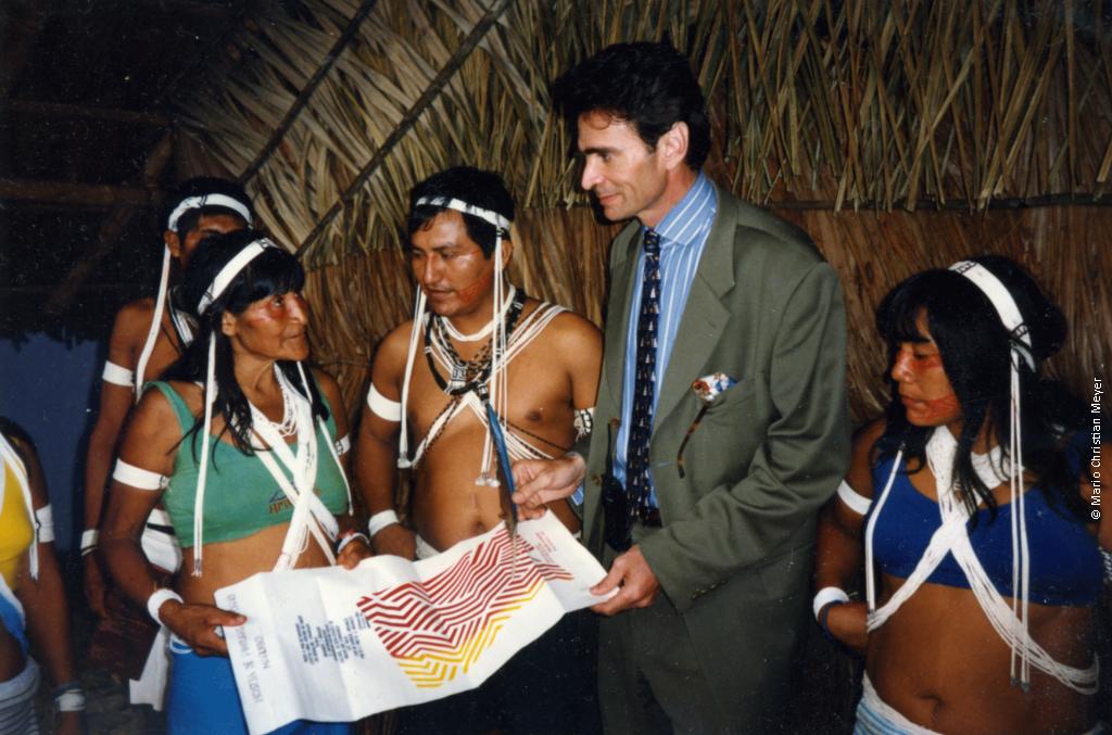 alliance entre les savoirs traditionnels des peuples autochtones d'Amazonie sur les plantes médicinales et les biotechnologies vertes